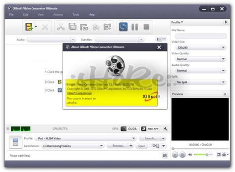 Free Download Xilisoft Video Converter Ultimate 6 Serial